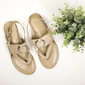 1. State Lelle Slingback Thong Sandals